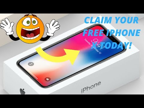 CLAIM YOUR FREE IPHONE X TODAY! - YouTube