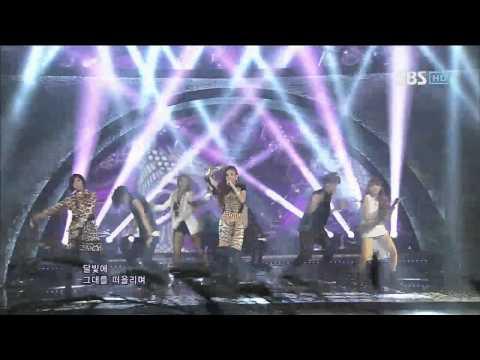 2NE1 [Intro + I Love You] @SBS Inkigayo 인기가요 20120708