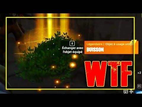 TROLL FORTNITE: GAGNER AVEC LE BUISSON ? | Battle Royale