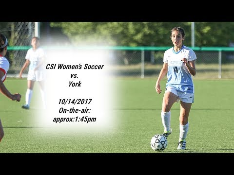 Womens Soccer vs York College - October 14, 2017