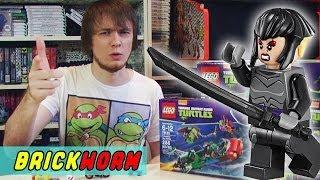 LEGO Черепашки! #6 - Karai Bike Escape (Lego TMNT) - Brickworm