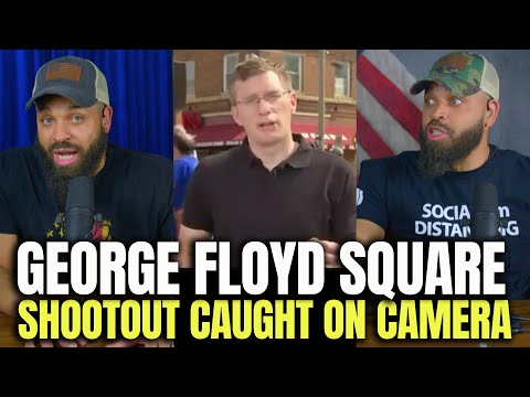 George Floyd Square 'Shootout' Caught On Camera
