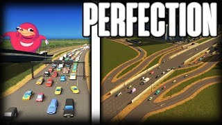 Perfect Traffic Cities Skylines - Circle City