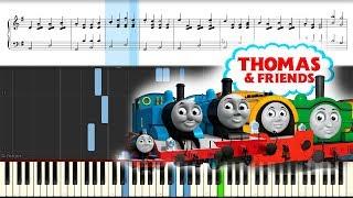 Музыка из мультика про паровозики. Томас и друзья. Пианино. Thomas the train piano.