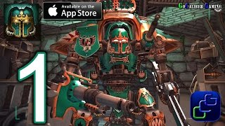 Warhammer 40,000: Freeblade iOS Walkthrough - Gameplay Part 1 - Chapter 1: Into The Fire