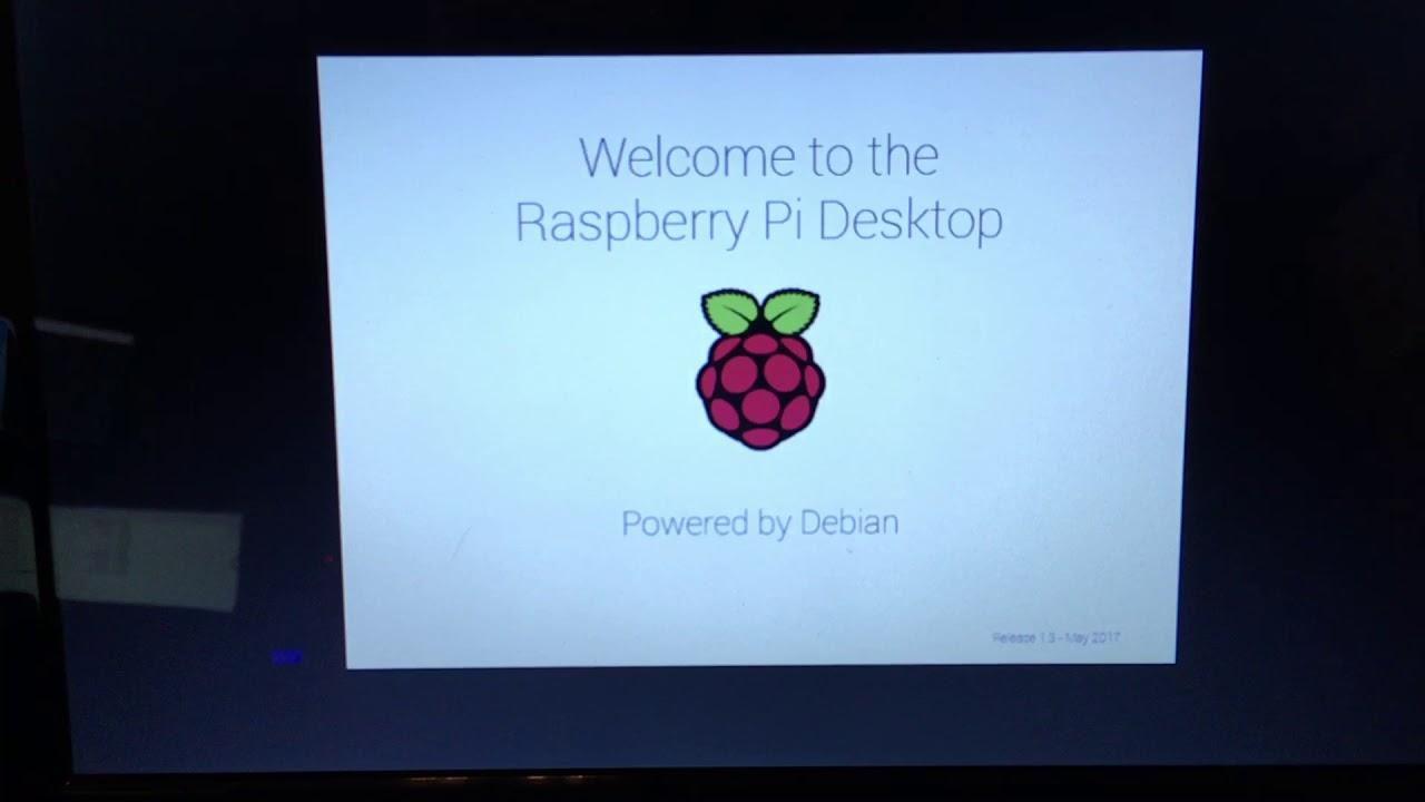 Raspberry Pi Desktop Running On A ASUS Netbook Computer With Kismet  *WarDriving*
