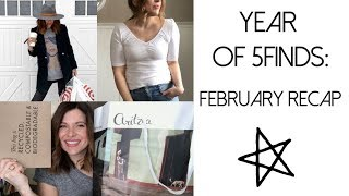 Year of 5Finds: February Shopping Recap