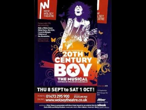 20th Century Boy The Musical  Radio Interview