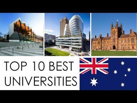 TOP 10 BEST UNIVERSITIES OF AUSTRALIA/TOP 10 MEJORES UNIVERSIDADES DE AUSTRALIA
