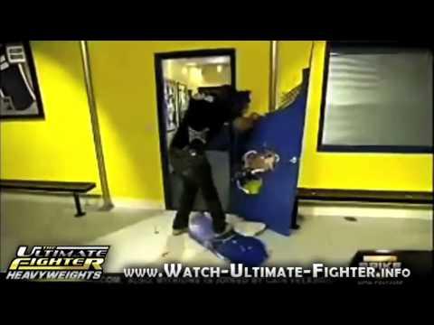Rampage Jackson Builds A Door Youtube
