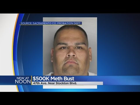 30 Pounds Of Crystal Meth Found After Probation Search In South Sacramento