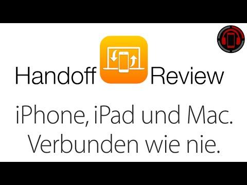 OS X Yosemite & iOS 8 Continuity Review - Handoff/Übergabe [Deutsch/German]