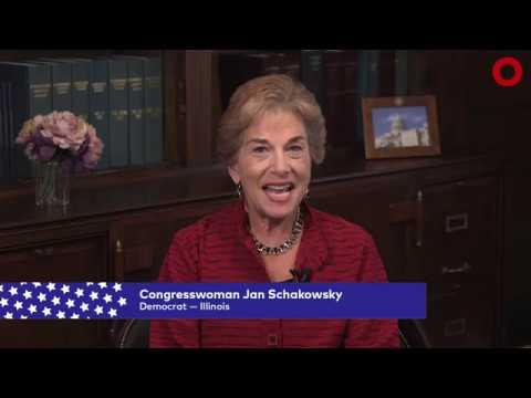 Congresswoman Jan Schakowsky (D-IL)   Global Citizen Festival NYC 2017