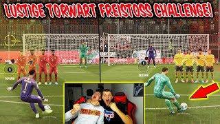 Die lustigste TORWART Freistoß Challenge aller Zeiten vs. BRUDER! - Fifa 20 Ultimate Team