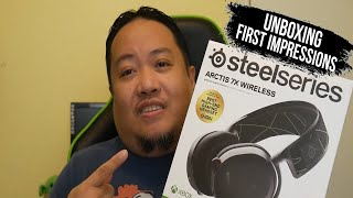 Unboxing and First Impressions Of The Steel Series Arctis 7X Wireless Headset