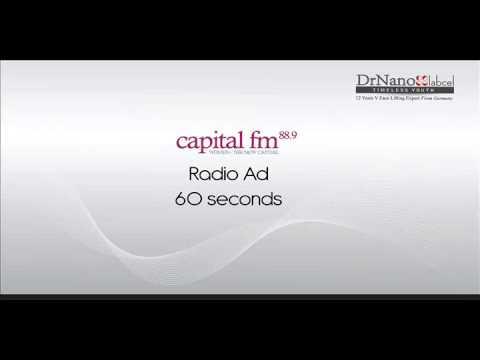 DrNano 60-second Radio Ad @Capital FM, Malaysia