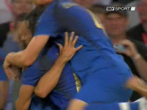 Mondiale 2006 - Italia vs Ghana - Gol di Pirlo 1-0 (HQ)
