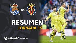 Resumen de Real Sociedad vs Villarreal CF (1-2)