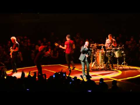 4k - U2 - Angel of Harlem - The Forum, Inglewood CA - 2015-05-27 May 27th