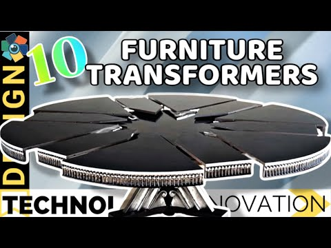 10 Furniture Transformers and Space Saving Design Ideas