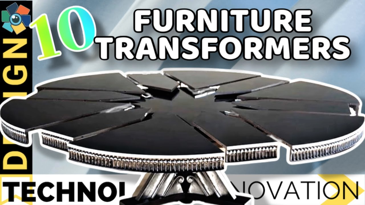 Spinning Top Chair South Africa Sewing Patterns For Cushions 10 Furniture Transformers You Have To See Believe Youtube Design Innovation Inventions