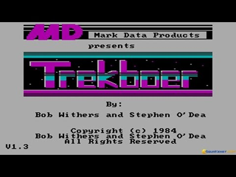 Trekboer gameplay (PC Game, 1984)