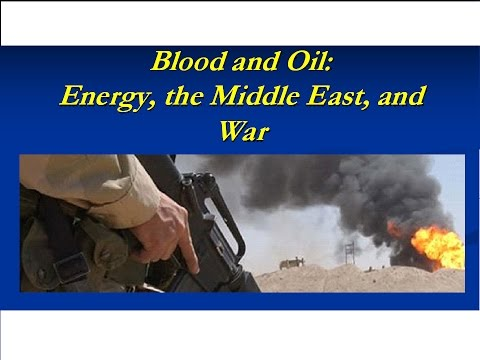 Lecture 1 -- Blood and Oil -- The View from Somewhere