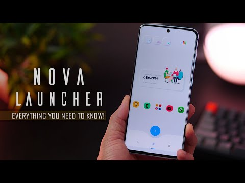 1 Power Tool to Customize Android Smartphones - Nova Launcher