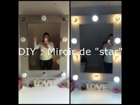diy r aliser un miroir de loge youtube. Black Bedroom Furniture Sets. Home Design Ideas