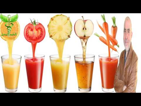 فوائد عصير الفواكه خاص بالرياضيين fruit juice  كريم العابد العلوي العابد العلوي
