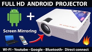 ANDROID PROJECTOR: Cheapest Wi-Fi Android Projector (2018)