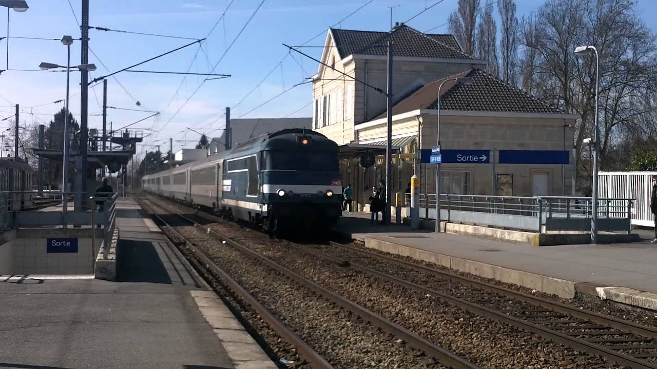 Gare de cr py en valois arriv e d 39 un train paris laon for Garage crepy en valois