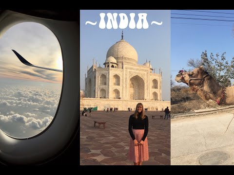 Travel Vlog: INDIA!!!!!