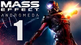 Mass Effect Andromeda Gameplay German - 1 - UNSER NEUER HEIMATPLANET | Let