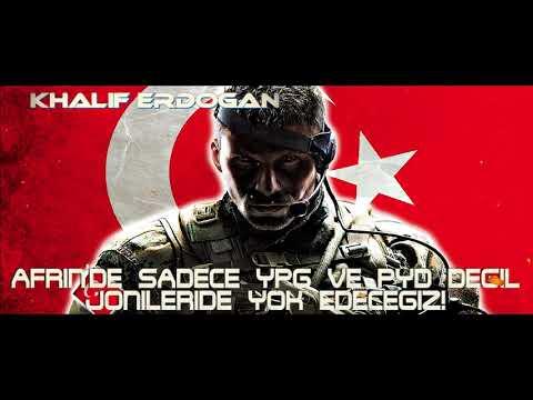 """Albay Ryan: """"Türkiye Afrine girerse, PYD'yi koruruz!"""" Erdoğan'dan ABD'ye son HARP uyarısı"""