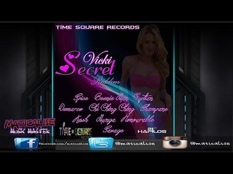 Vicki Secret Riddim Mix {Time Square Records} [Dancehall] @Maticalise
