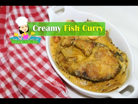 Creamy Cashew Nut Fish Curry | Fish Curry With Cashew Nut | Cashew Nut Fish Curry
