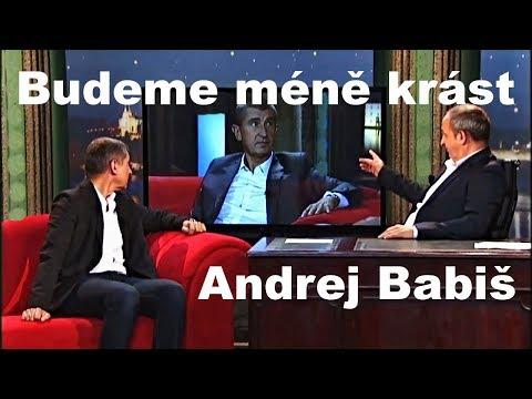 Zeman jmenoval Babiše premiérem - BUDEME MÉNĚ KRÁST platí to i pro Parlamentní volby 2017