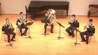 第6音楽隊 山形市中央公民館 第2回室内楽演奏会 平成28年12月23...