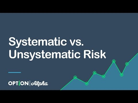 Systematic vs. Unsystematic Risk