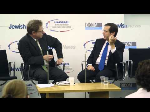 Isaac Herzog speaks at the Jewish News UK-Israel Conference