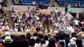 平成二十五年八月三日、大相撲盛岡場所。
