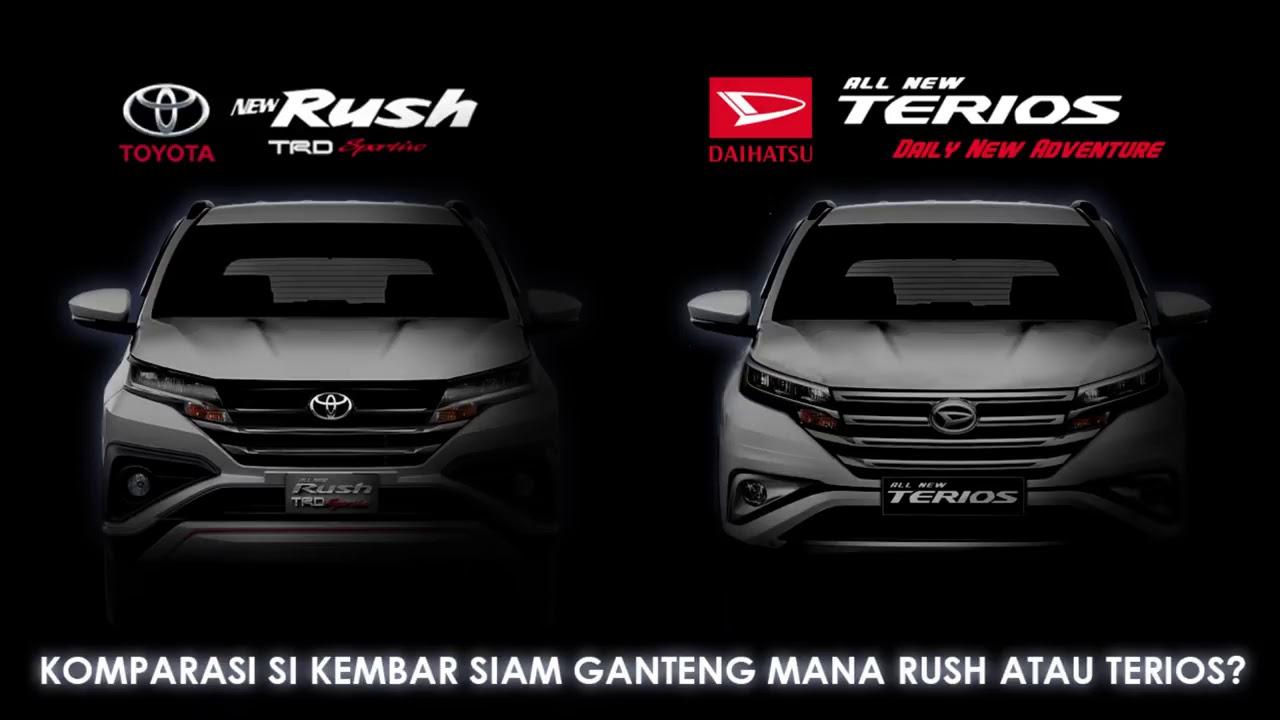 Daihatsu Terrios 2018 >> Toyota Rush VS Daihatsu Terrios 2018 _ Tentukan Pilihanmu - YouTube