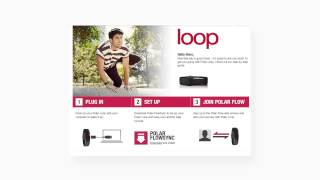 getting started with polar loop fitness activity tracker available in canada