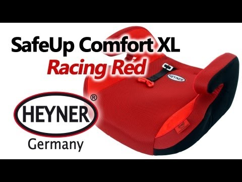 HEYNER SafeUp Comfort XL Racing Red — бустер — видео обзор 130.com.ua
