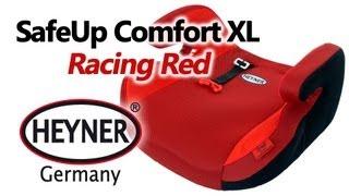 HEYNER SafeUp Comfort XL Racing Red — бустер — видео обзор 130.ua