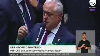 Odorico Monteiro pronuciamento Senad do projeto do Susp
