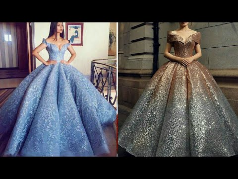 latest-off-shoulder-ball-gown-designs-collection-2019-||-prom-dress-||-evening-dress