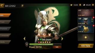 Dynasty Warrior Unleashed.. 27K ignot summons..