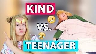 KIND vs TEENAGER #2 | Dinge die Kinder und Teenager tun & sagen | Annaxo 2016
